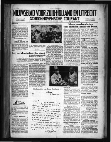 Schoonhovensche Courant 1950-01-02
