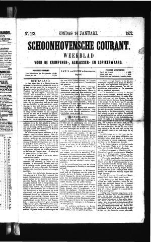 Schoonhovensche Courant 1872-01-14
