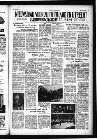 Schoonhovensche Courant 1955-08-15