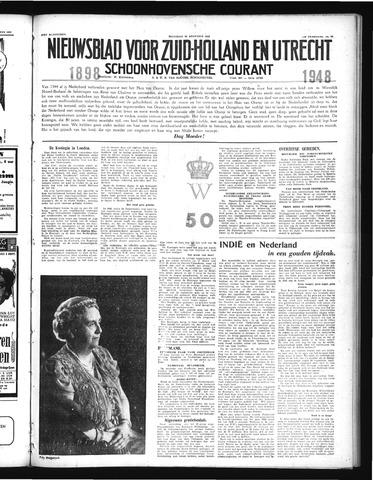 Schoonhovensche Courant 1948-08-30
