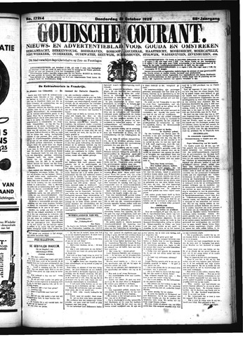 Goudsche Courant 1929-10-31