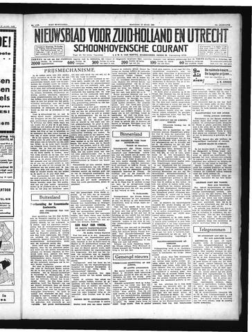 Schoonhovensche Courant 1937-04-19