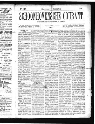 Schoonhovensche Courant 1890-11-08