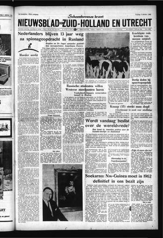 Schoonhovensche Courant 1961-10-06