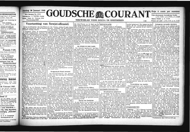 Goudsche Courant 1945-01-30