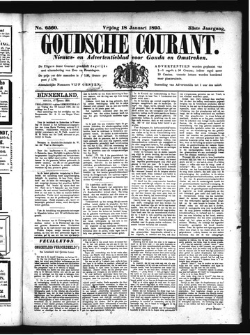 Goudsche Courant 1895-01-18