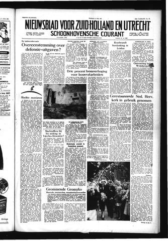 Schoonhovensche Courant 1956-07-13