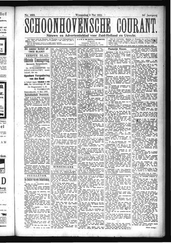 Schoonhovensche Courant 1922-05-03