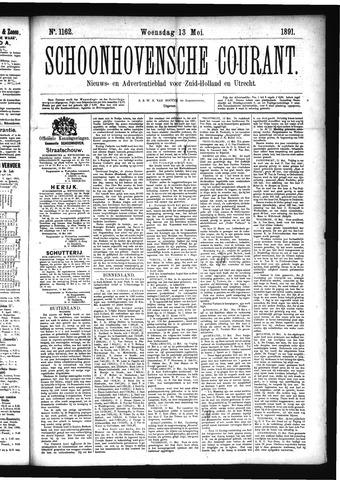 Schoonhovensche Courant 1891-05-13
