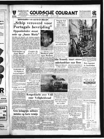 Goudsche Courant 1961-01-25