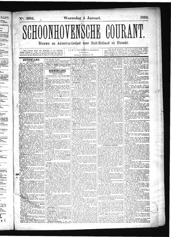 Schoonhovensche Courant 1910-01-05