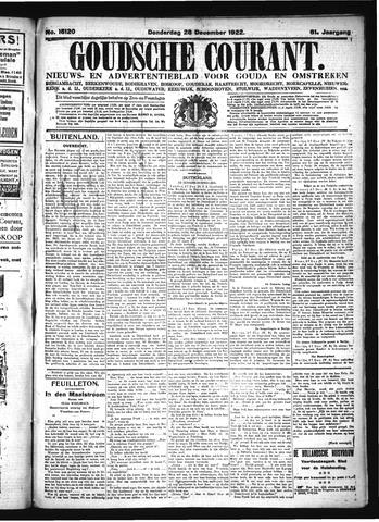 Goudsche Courant 1922-12-28