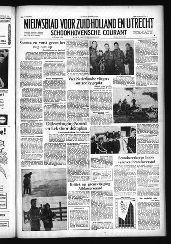 Schoonhovensche Courant 1956-02-20