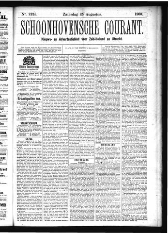 Schoonhovensche Courant 1900-08-25