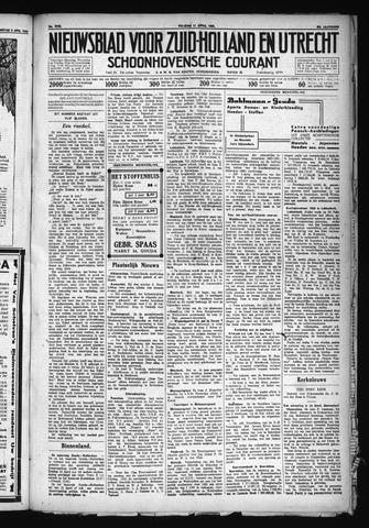 Schoonhovensche Courant 1930-04-11