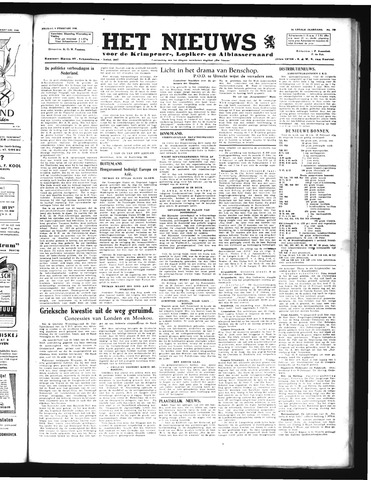 Schoonhovensche Courant 1946-02-08