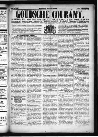 Goudsche Courant 1929-06-10