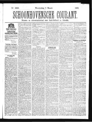 Schoonhovensche Courant 1905-03-08