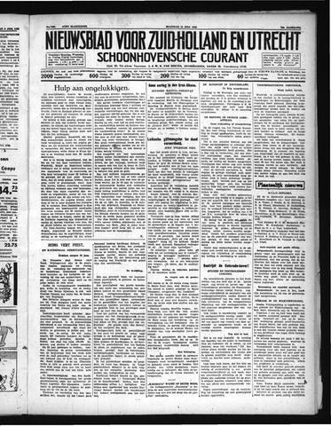 Schoonhovensche Courant 1938-07-11
