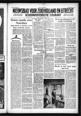 Schoonhovensche Courant 1954-10-08