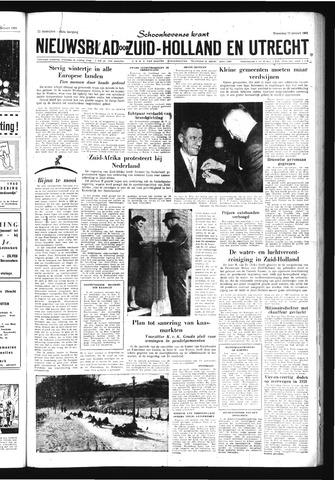 Schoonhovensche Courant 1960-01-13