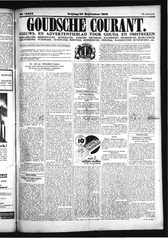 Goudsche Courant 1936-09-25
