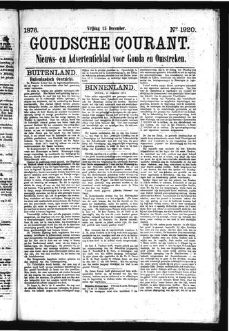 Goudsche Courant 1876-12-15