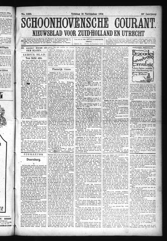 Schoonhovensche Courant 1926-11-26