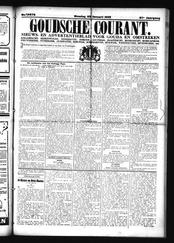 Goudsche Courant 1929-01-22