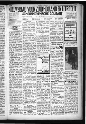 Schoonhovensche Courant 1931-10-30