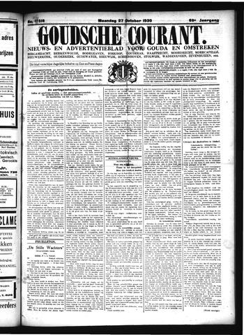 Goudsche Courant 1930-10-27