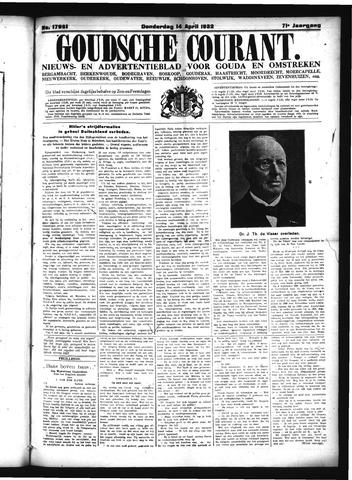 Goudsche Courant 1932-04-14