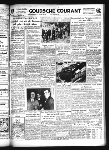 Goudsche Courant 1954-05-11