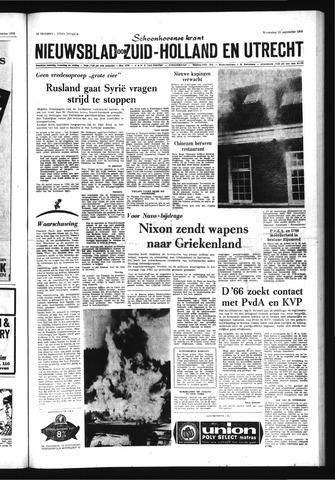 Schoonhovensche Courant 1970-09-23