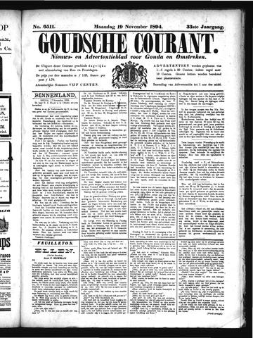 Goudsche Courant 1894-11-19