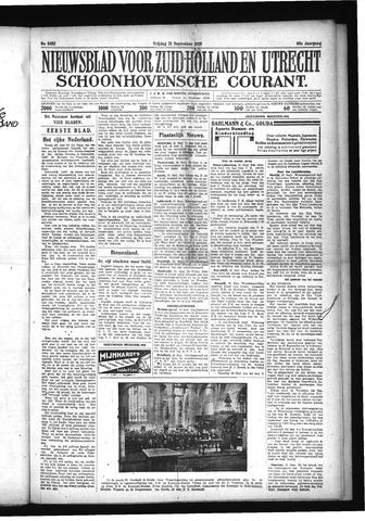 Schoonhovensche Courant 1928-09-21