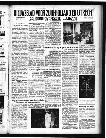 Schoonhovensche Courant 1950-09-06