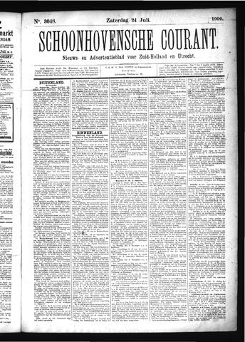 Schoonhovensche Courant 1909-07-24