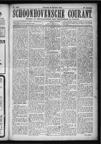 Schoonhovensche Courant 1923-02-26