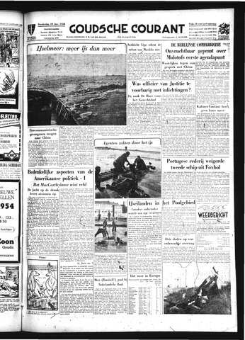 Goudsche Courant 1954-01-28