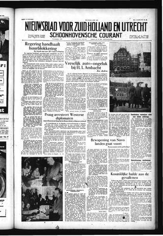 Schoonhovensche Courant 1957-05-06