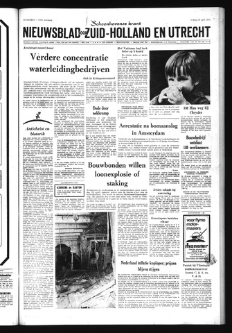 Schoonhovensche Courant 1971-04-16