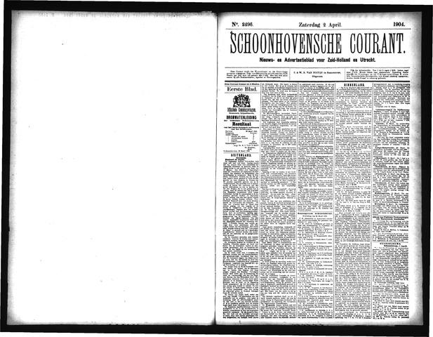 Schoonhovensche Courant 1904-04-02
