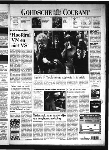 Goudsche Courant 2001-09-22
