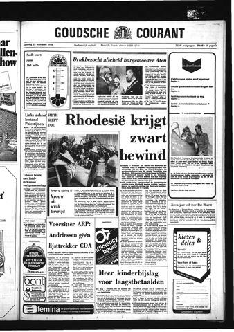 Goudsche Courant 1976-09-25