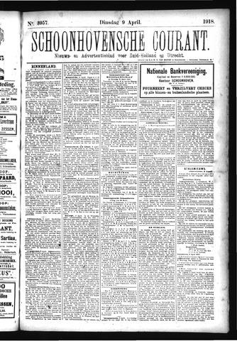 Schoonhovensche Courant 1918-04-09