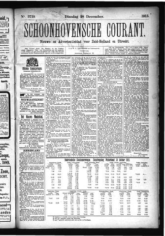 Schoonhovensche Courant 1915-12-28