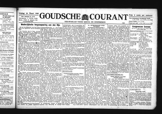 Goudsche Courant 1945-03-16