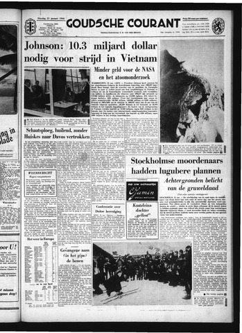 Goudsche Courant 1966-01-25
