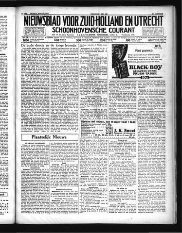 Schoonhovensche Courant 1935-05-01